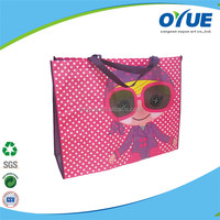 Cheap Promotional recycle non woven shopping bag foldable
