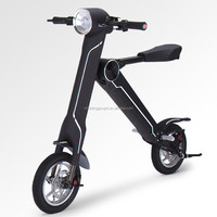 Light weight White Electric Foldable Racing Bicycle from Horwin