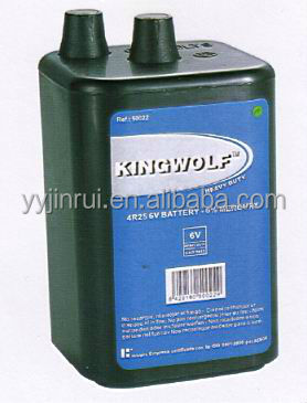 Hotsell super power 6 v 4r25 battery high quality
