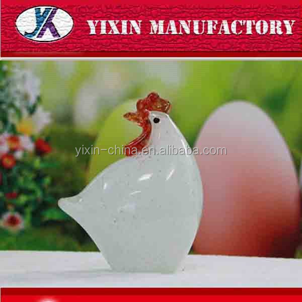 Chick decorative animal crafts glass