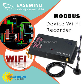 Easy install wireless data logger wifi Smart modbus room thermostat
