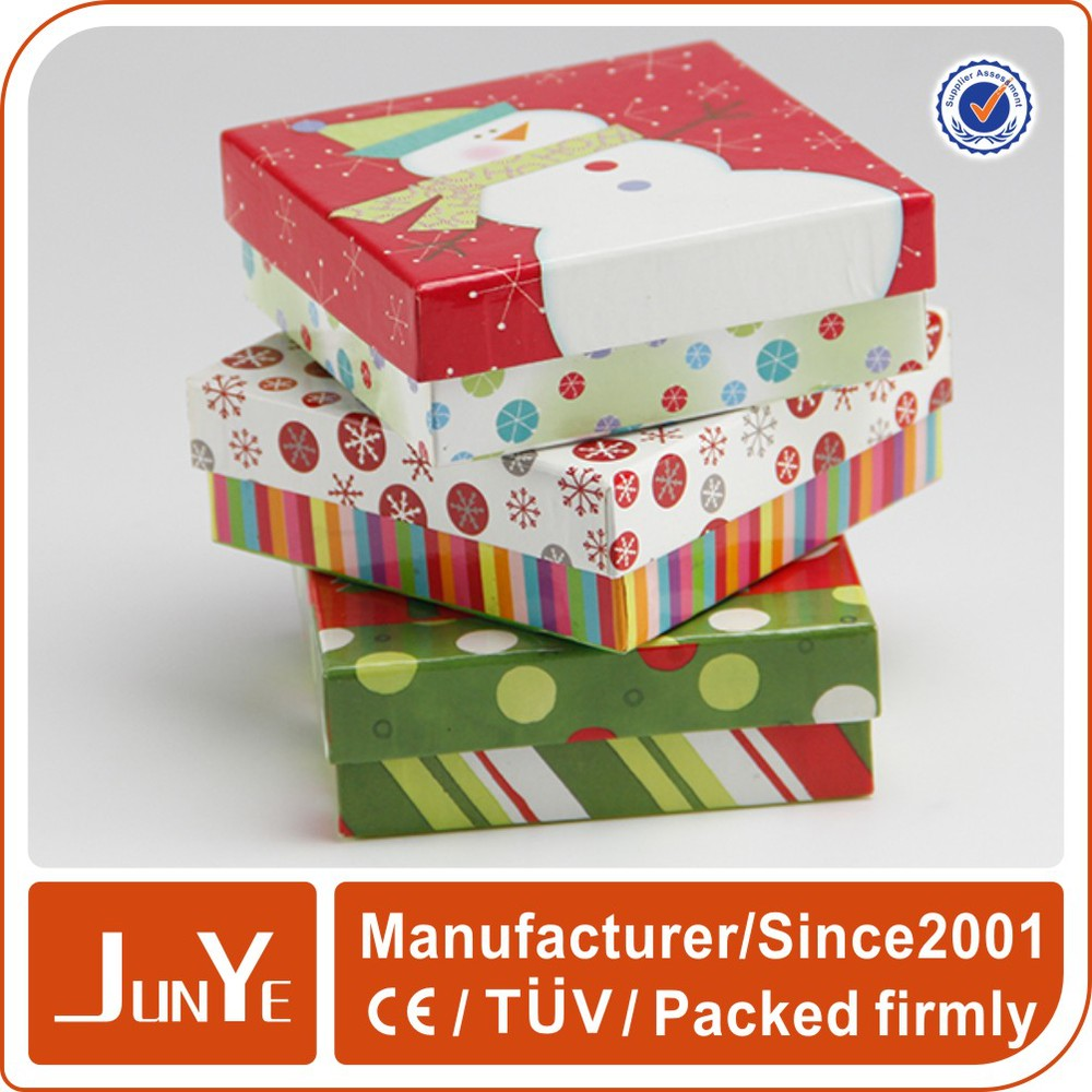 Factory price small presentation boxes for greeting cards