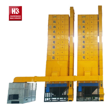 Agricultural Vertical Cereal Drying Machine Rice Grain Dryer Equipment Export to Korea