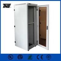 IP55 network cabinet server rack soundproof with air control LCD panel