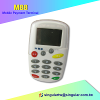 Point of sale system chip and msr card reader