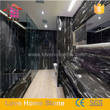 Alibaba Hot Sale Natural stone Black and White Vicky Marble