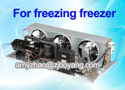 RoHS R22 refrigeration compressor trane hvac condensing units for mobile refrigerator