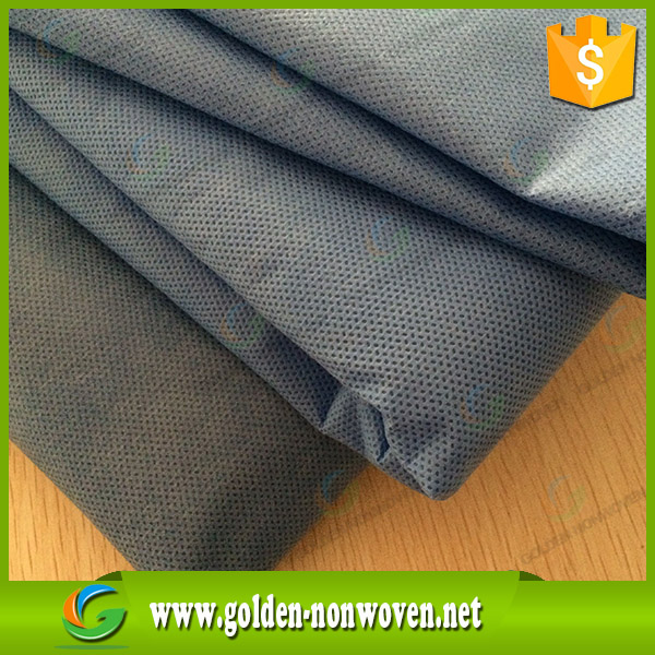 Medical hospital blue sms nonwoven Protective cloth/SMS SMMS Nonwoven/PP Nonwoven fabric waterproof