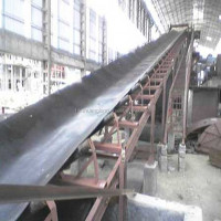 EP Oil/fat resistant rubber conveyor belt for handling food mixtures, soybean cakes