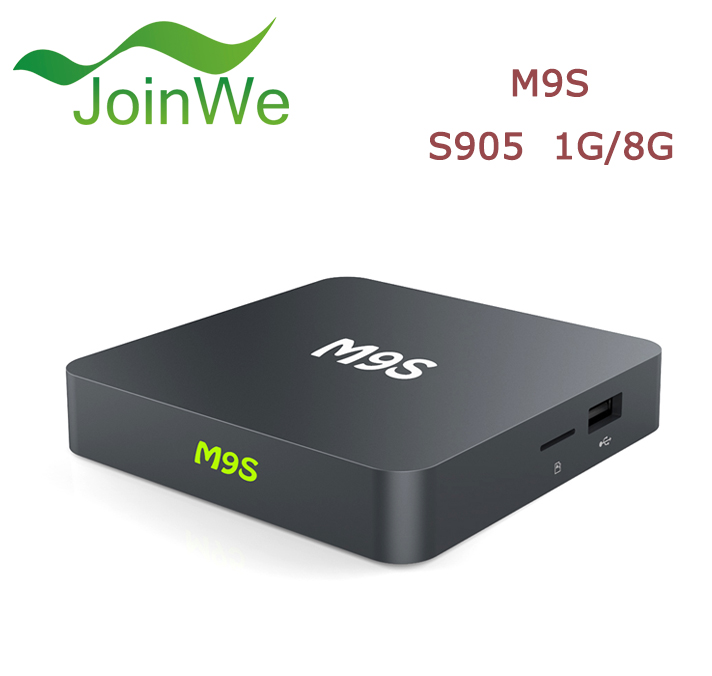 cheapest tv box M9S1G Android TV Smart Set Top Box M9S Built-in WiFi with 4 High speed USB