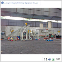Dry and water cable wire recycling machine making equipment