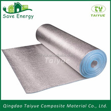 5mm epe with silver foil underlaymentn high density xpe foam insulation