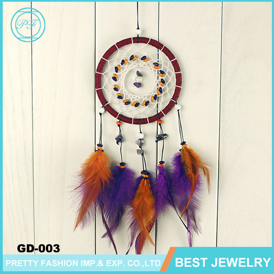 Mini Colorful Pure Handmade Dream Catcher Wholesale Dream Catcher for Holiday Gift