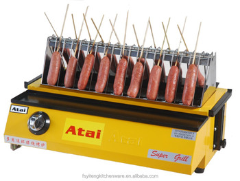 Gas Hot Dog Roller And Barbecue Grills Machine Buy Hot