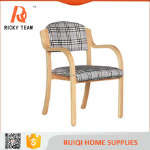 Simple design solid wood bent plywood chair/solid wood dining chair