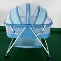 Folding Portable Folding Swing Baby Bassinet