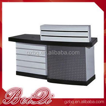 Wholesale Showroom Counter Designs Pos Checkout Counter Used Salon Furniture Cash Register Desk