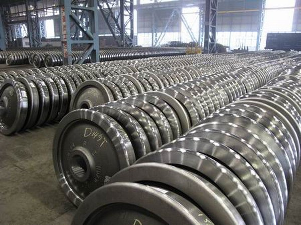 Narrow Gauge railway wheelset, wagon parts, High quality locomotive and wagon equipment