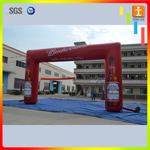 Custom gaint welcome start finish line inflatable entrance arch