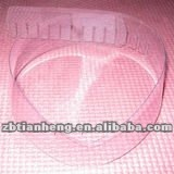 high clear PVC film in roll for shirt collar
