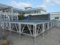 aluminum portable stages/wedding stages/Mobile stages for sale