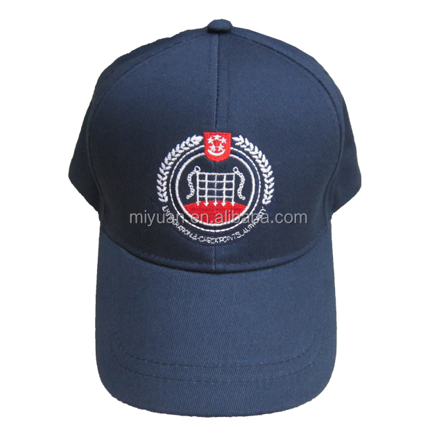 Malaysia Singapore NPCC 2016 hunting washable military navy blue mens polyester cotton embroidery baseball cap hat factory