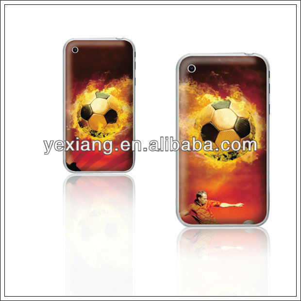 Fashion fire football case for galaxy s2 customized phone case