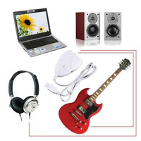 Mini USB Interface Audio Guitar Link Cable to PC MAC