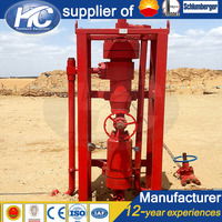 Wellhead gas & solid separation device / grit separator / hydrocyclone cyclone desander on sale