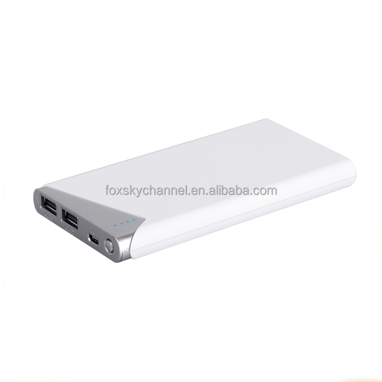 private label available dual ports portable phone charger bulk products from China