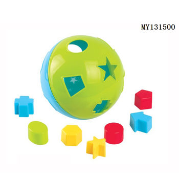 Kids plastic preschool toy funny fancy puzzle ball
