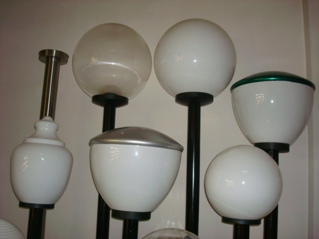 acrylic lighting shade street light shade