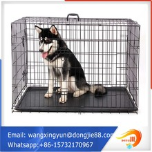 high quality folding one door aluminum dog cage
