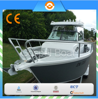 Chinese 6.25m aluminum center cabin boat for fishing