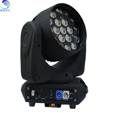 Good quality product 19pcs 12w RGBW led zoom wash aura moving head stage light