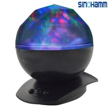 sinohamm Color Changing Led Night Light Aurora Star Borealis Projector for Children and Adults Decorative Mood Light