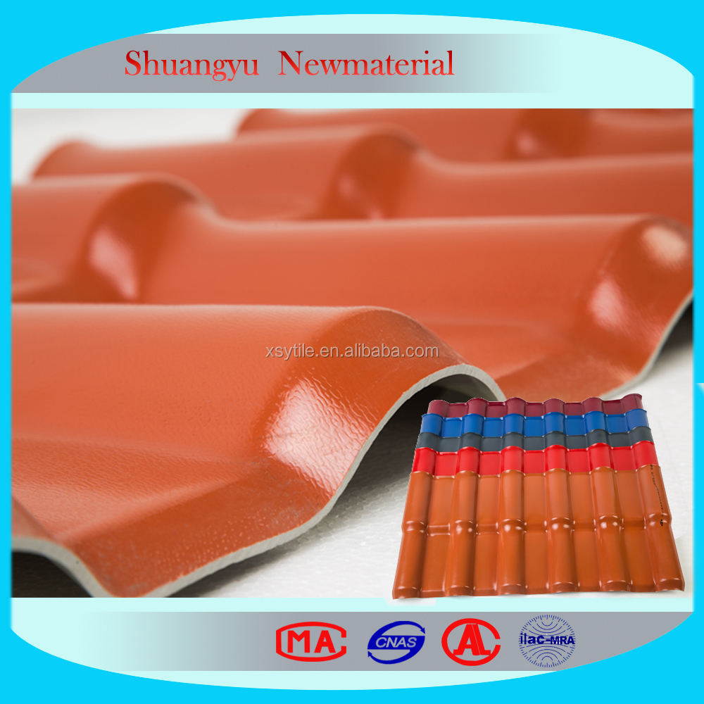 High Quality Shuangyu Resin Roof Tile/Spanish Style Tile
