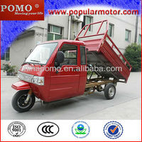 High Quality 2013 Best Closed Cabin Gasoline Motorized New Cheap Popular Cargo 300CC Three Wheeler India