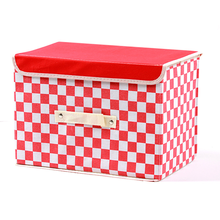 Folding Storage Box 12X12 Fabric Storage Bins Cloth Cubes For Storage