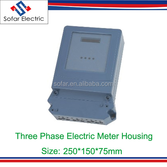 Dts-30 Size 250*150*75mmmm Three Phase Electric Energy Meter ...