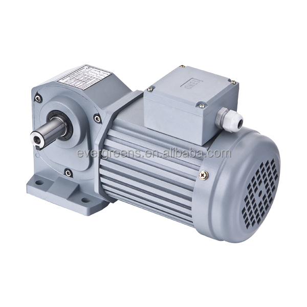High-efficiency 120W hyperboloid gear right angle gear motor same as sumitomo motor gear