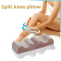 Multi-colors washable Case split Knee and foot Pillow
