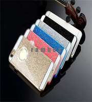 New Products Shiny Chrome Plating Plastic Cover Glitter Surface Case for iPhone 4 5 6 6 Plus