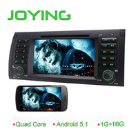 Android 5.1 inch capacitance touch screen Stereo for BMW E39 Car DVD Radio with dvd , 3g wifi, igo map
