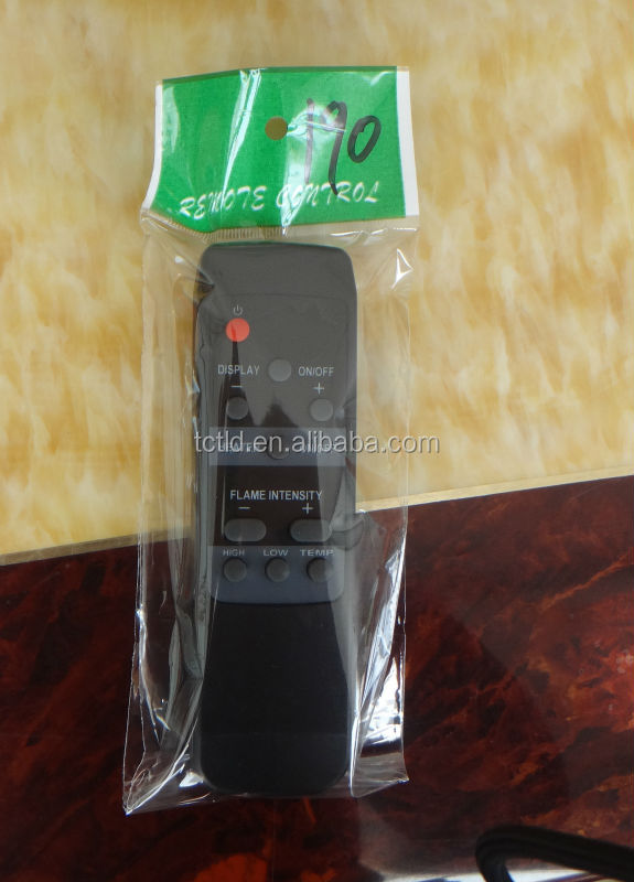 Black appearance IR remote control for floor heating system