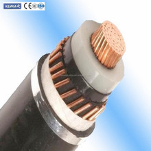 high quality underground 3.6/6kv- 26/35Kv high voltage XLPE insulated copper power cable