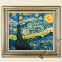 Famous painting reproduction of Van Gogh oil painting