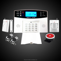 Manual smart alarm system gsm/ home gsm dvr alarm system & wireless home perimeter alarm system With Loud horn KI-G10S
