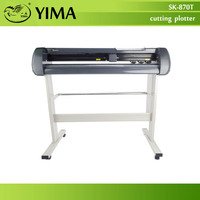 Free by DHL cutting plotter 60W cuting width 760mm vinyl cutter Model SK-870T Usb Seiki Brand high quality 100% brand new