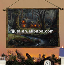wall hanging wall tapestry with led lights